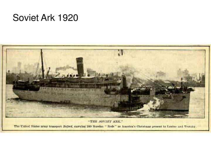 Soviet Ark 1920