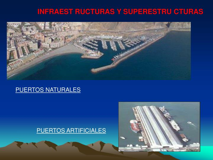 INFRAEST RUCTURAS Y SUPERESTRU CTURAS