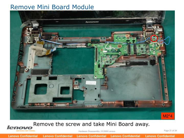 Remove Mini Board Module