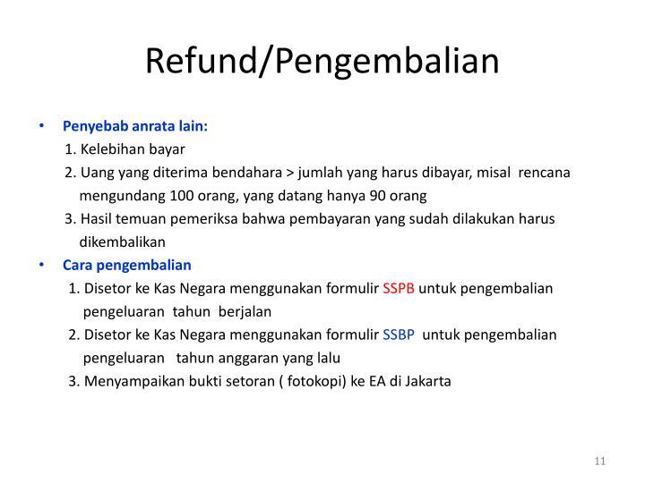 Refund/
