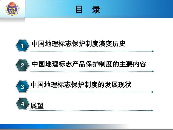 中国地理标志保护制度演变历史