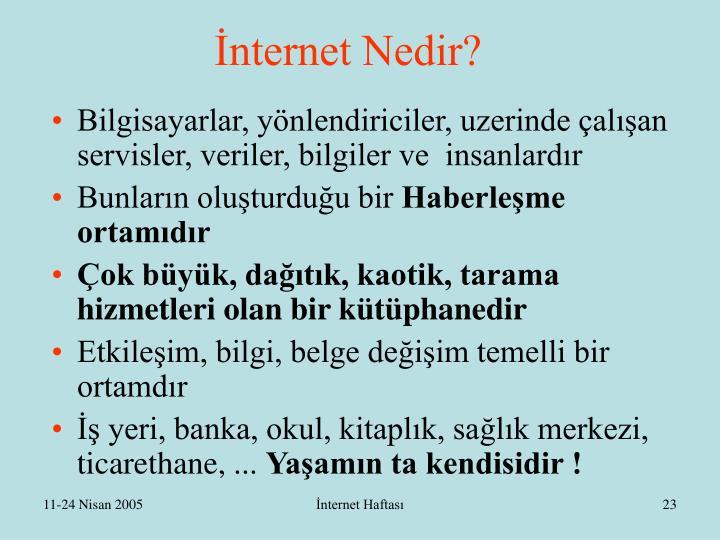 İnternet Nedir?
