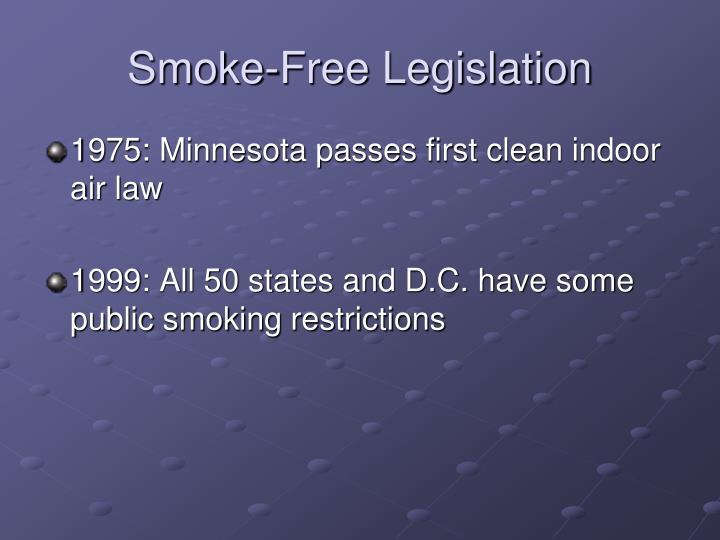 Smoke-Free Legislation