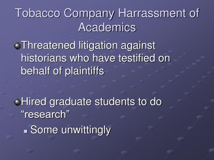 Tobacco Company