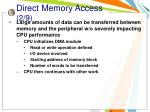direct memory access 2 9