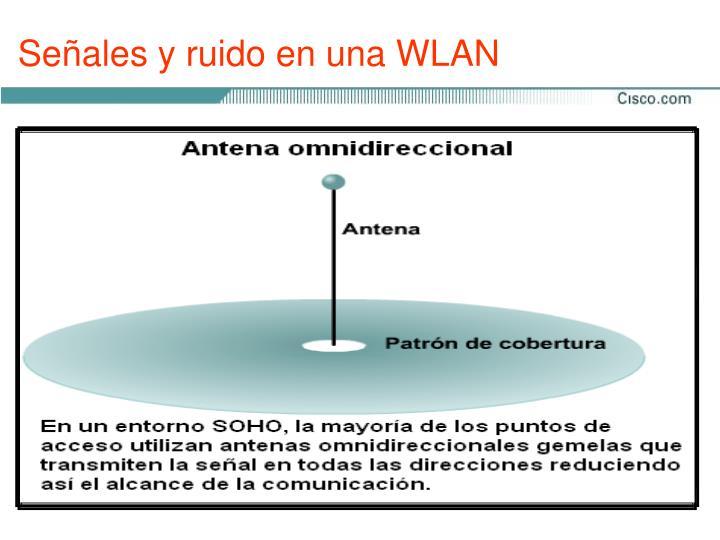 Señales y ruido en una WLAN