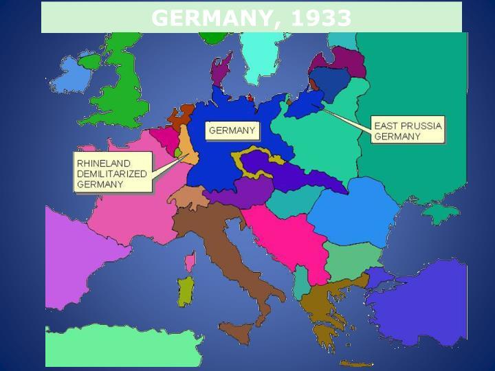 GERMANY, 1933