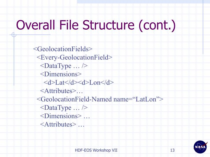 Overall File Structure (cont.)