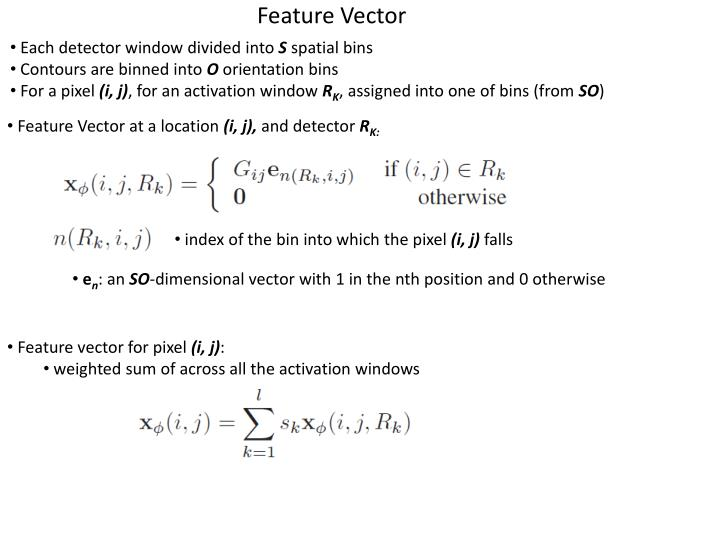 Each detector window divided into
