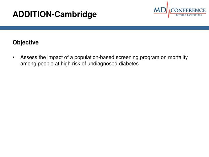 ADDITION-Cambridge