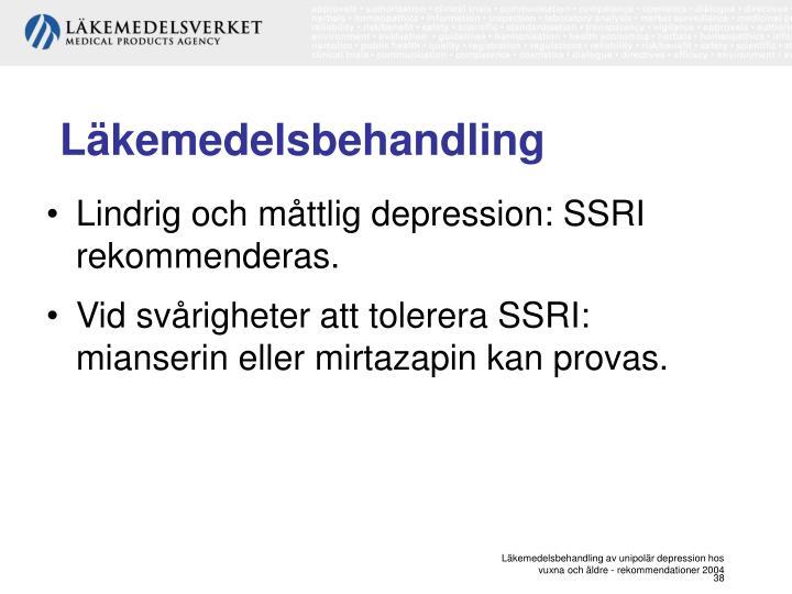 Läkemedelsbehandling