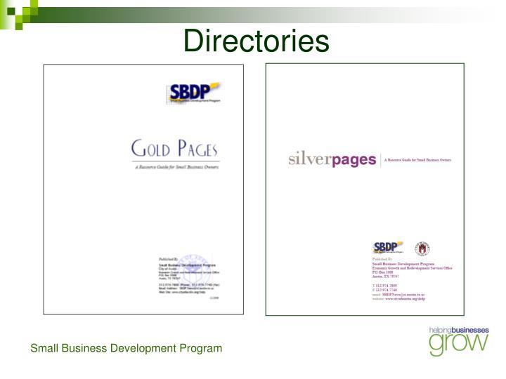 Directories