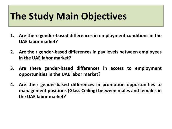 The Study Main Objectives