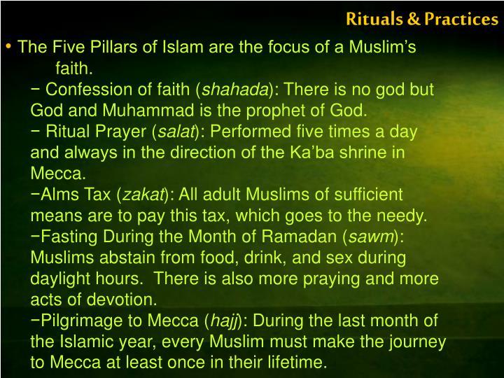 Rituals & Practices
