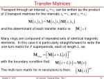 transfer matrices2