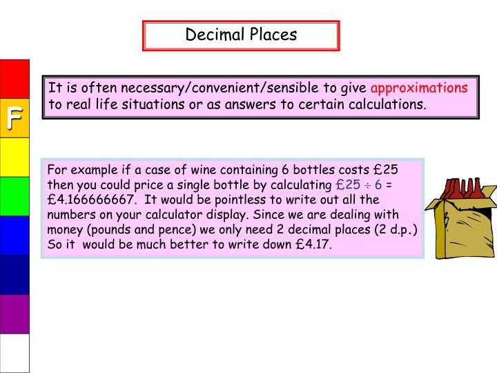 For example if a case of wine containing 6 bottles costs £25 then you could price a single bottle by calculating