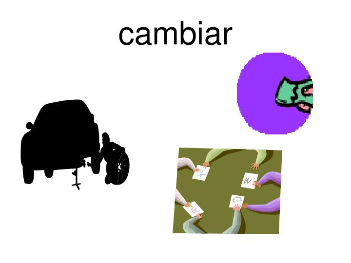 cambiar
