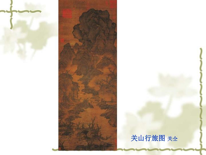 关山行旅图