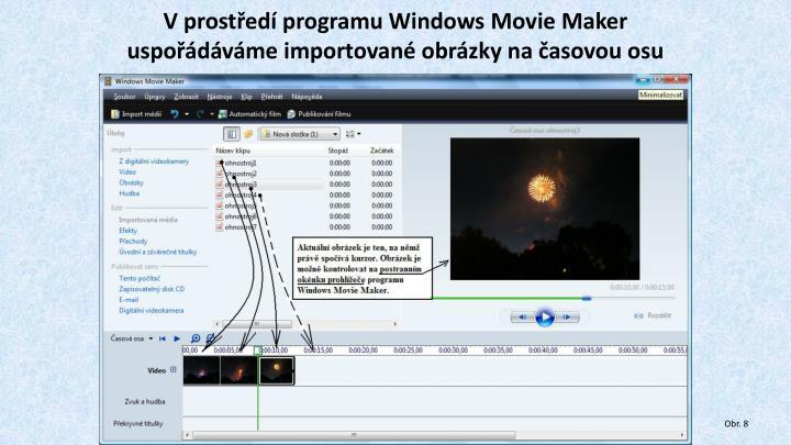 V prostředí programu Windows