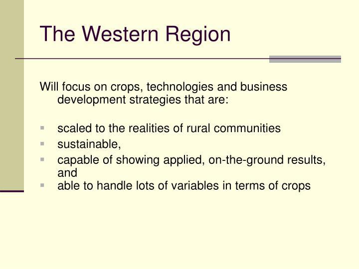 The Western Region
