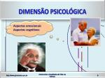 dimens o psicol gica
