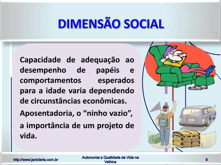 Dimensão social