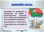 dimens o social