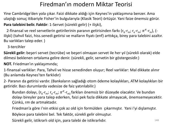 Firedman'ın