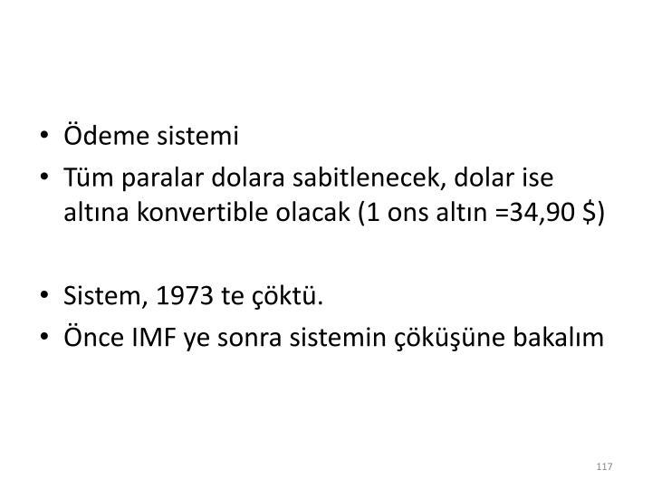 Ödeme sistemi