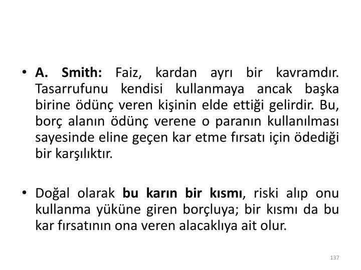 A. Smith:
