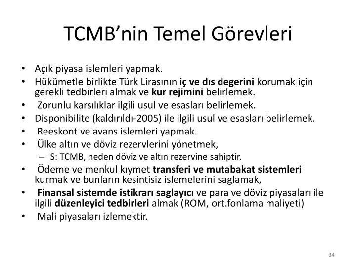 TCMB'nin