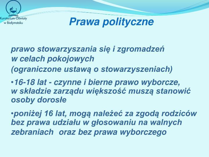Prawa polityczne