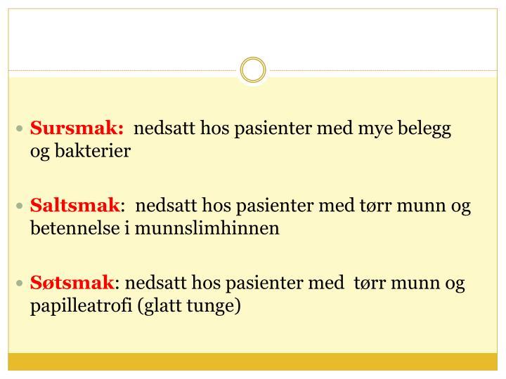 Sursmak: