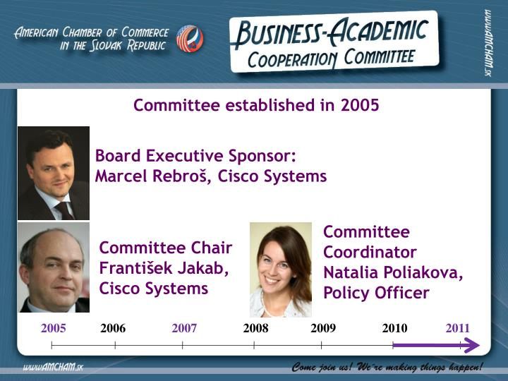 Committee established in 2005