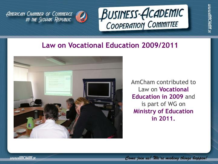 Law on Vocational Education