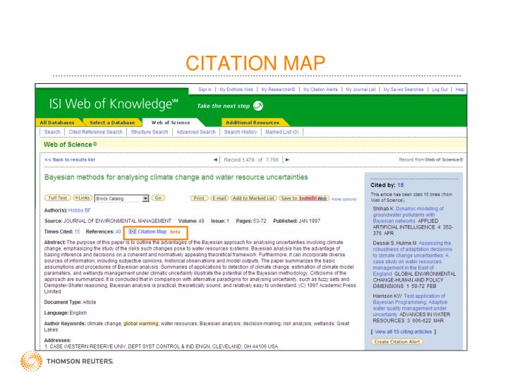 CITATION MAP