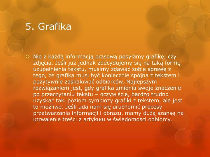 5. Grafika
