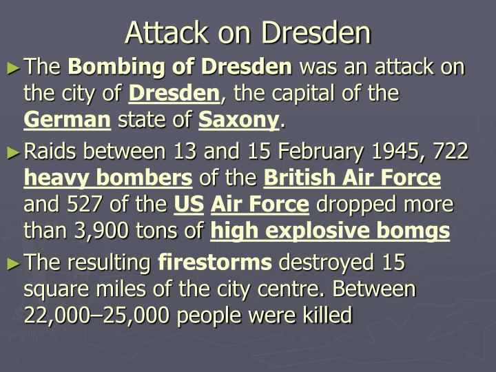 Attack on Dresden