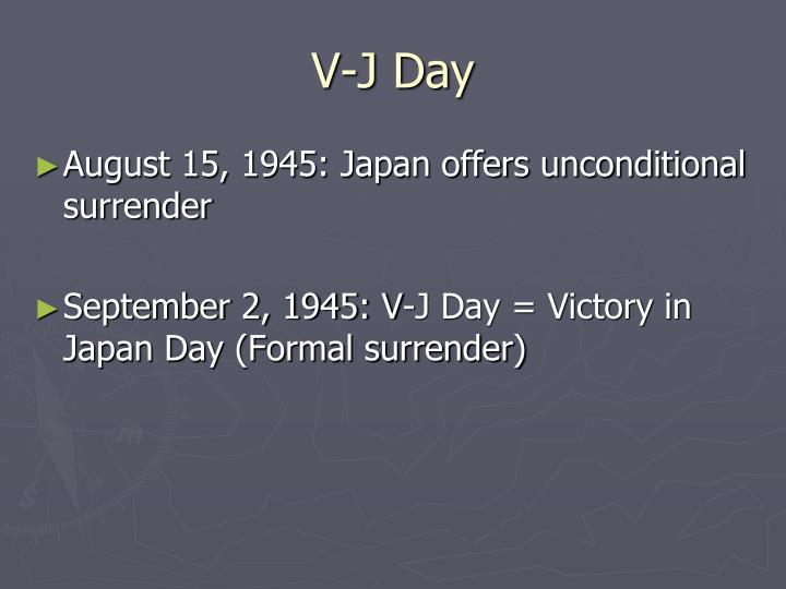 V-J Day