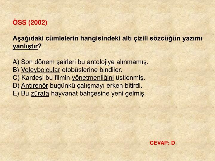 ÖSS (2002)
