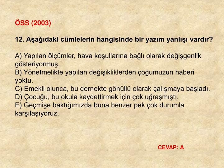 ÖSS (2003)