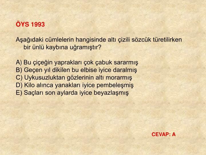 ÖYS 1993