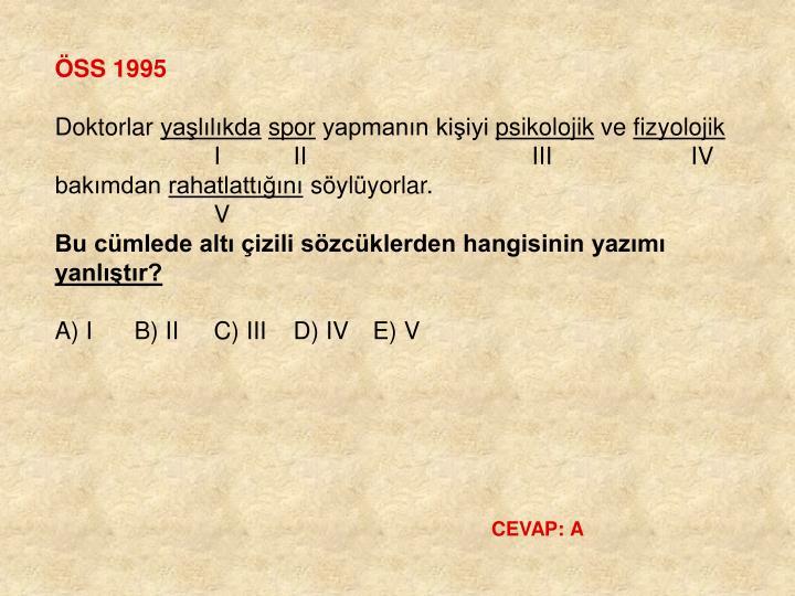 ÖSS 1995
