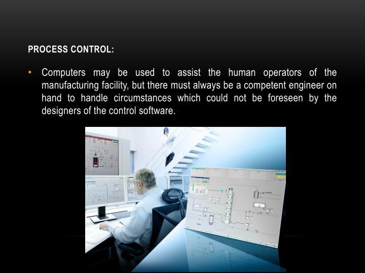 Process control: