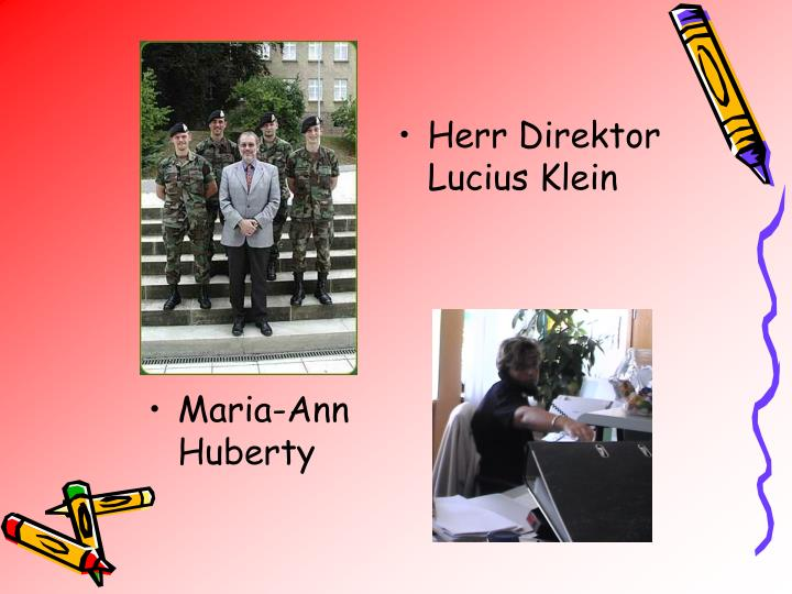 Herr Direktor  Lucius Klein