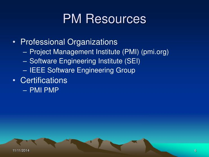 PM Resources