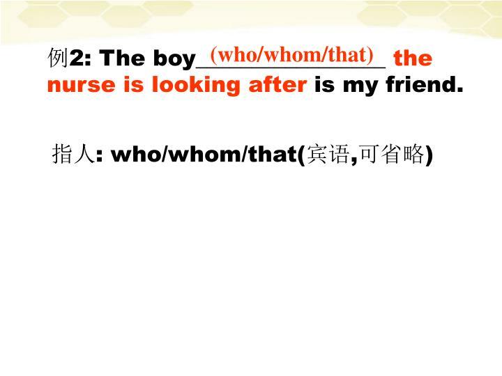 (who/whom/that)