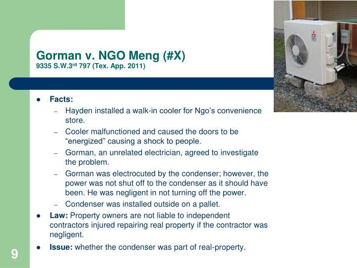 Gorman v. NGO
