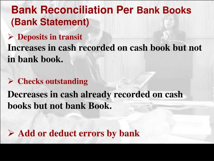 Bank Reconciliation Per