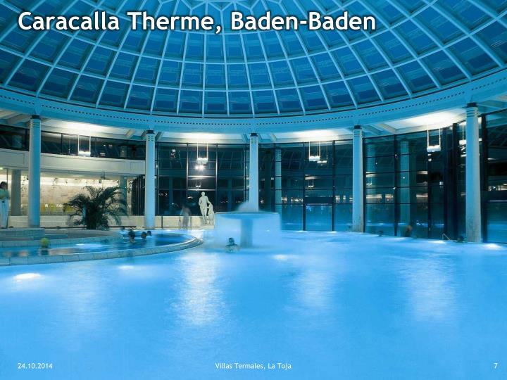 Caracalla Therme, Baden-Baden